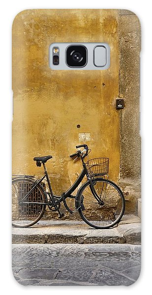 Black Bike Galaxy Case by Patricia Strand