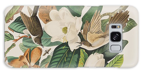 Cuckoo Galaxy Case - Black Billed Cuckoo by John James Audubon