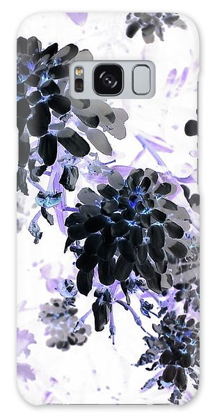 Galaxy S8 Case - Black Blooms I by Orphelia Aristal