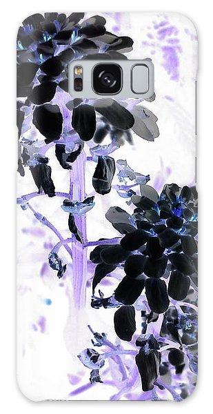 Galaxy S8 Case - Black Blooms I I by Orphelia Aristal