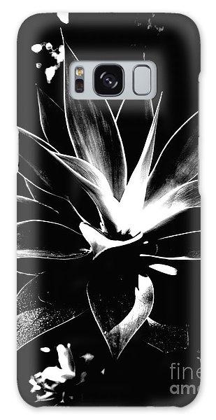 Black Cactus  Galaxy Case