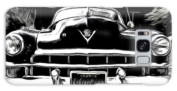 Black Cadillac Galaxy Case