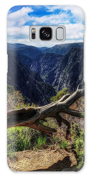 Black Canyon Of The Gunnison First Look Galaxy Case