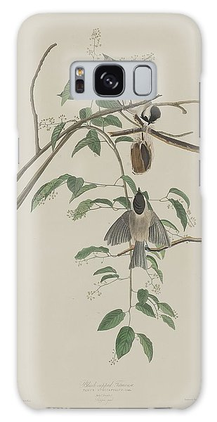 Titmouse Galaxy S8 Case - Black-capped Titmouse by Dreyer Wildlife Print Collections
