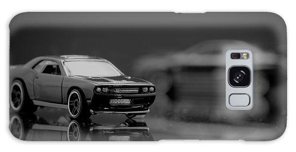 Black Dodge Challenger Galaxy Case
