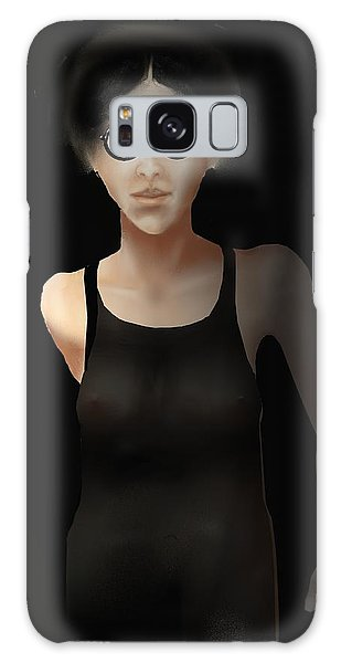 Black Dress Galaxy Case