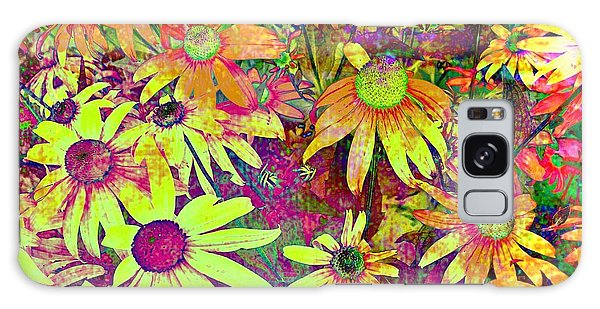 Black-eyed Susan   Abstract  Galaxy Case