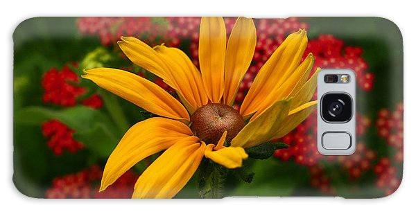 Black-eyed Susan And Yarrow Galaxy Case