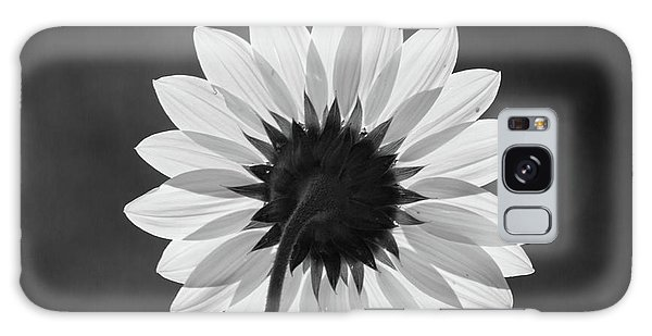 Black-eyed Susan - Black And White Galaxy Case