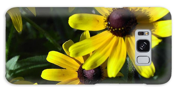 Black Eyed Susan Galaxy Case by Mary-Lee Sanders