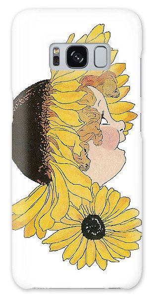 Black-eyed Susan Galaxy Case