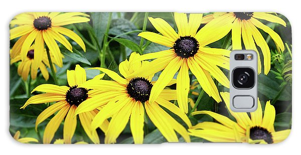 Greeting Galaxy Case - Black Eyed Susans- Fine Art Photograph By Linda Woods by Linda Woods