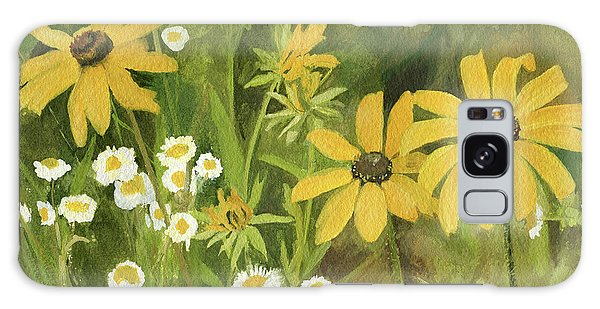 Black-eyed Susans In A Field Galaxy Case by Laurie Rohner