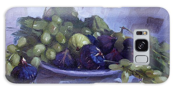 Grape Galaxy Case - Black Figs And Grape by Ylli Haruni