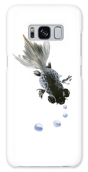 Black Fish Galaxy Case