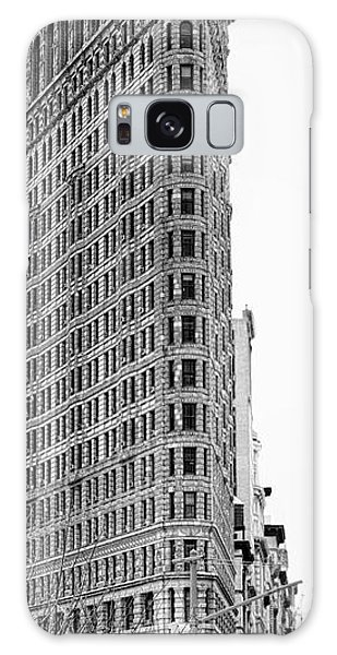 Black Flatiron Building II Galaxy Case