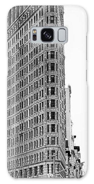 Black Flatiron Building II Galaxy Case