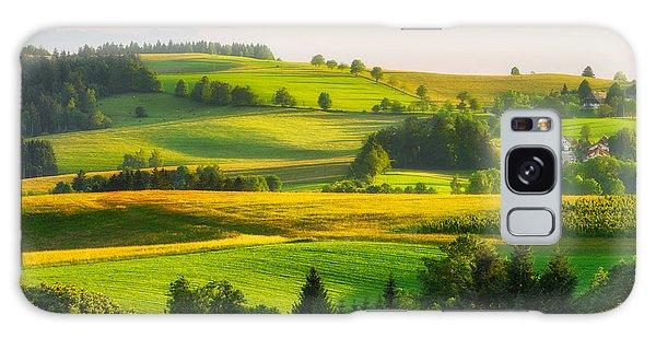 Black Forest Landscape Galaxy Case