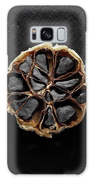 Herbs Galaxy Case - Black Garlic Cross-section by Johan Swanepoel