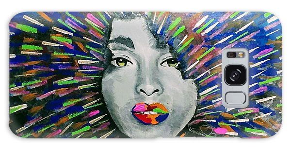 Galaxy Case - Black Girl Magic by Vanessa Faith