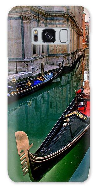 Black Gondola Galaxy Case