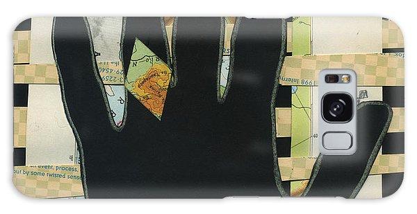 Black Hand Collage Galaxy Case