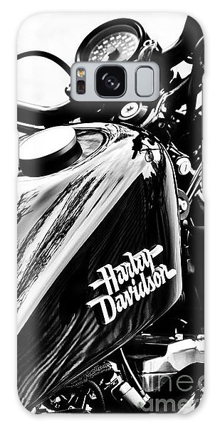 Black Harley Galaxy Case