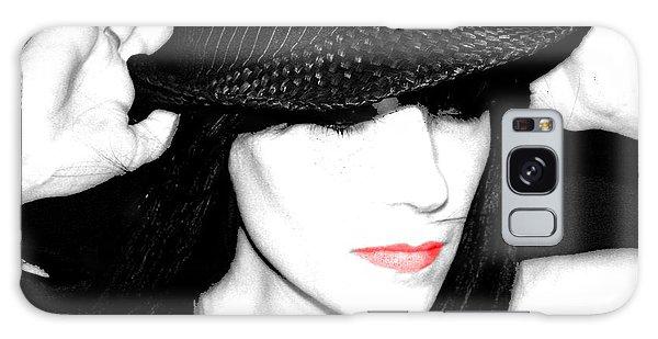 Black Hat Galaxy Case by Tbone Oliver