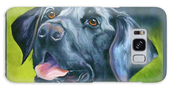 Black Lab Forever Galaxy Case