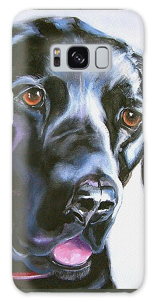 Black Lab No Ordinary Love Galaxy Case