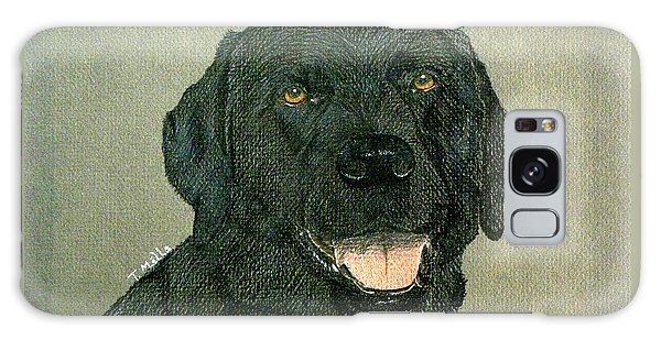 Black Labrador Retriever Galaxy Case