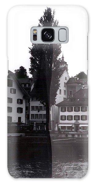 Galaxy Case - Black Lucerne by Christian Eberli