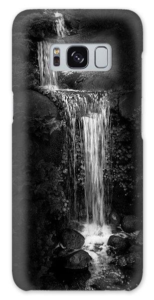 Black Magic Waterfall Galaxy Case