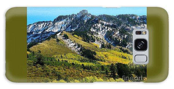 Black Mesa Rocky Peak In Autumn Galaxy Case