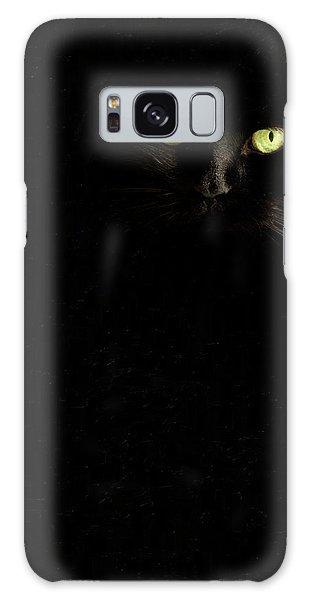 Black On Black Galaxy Case