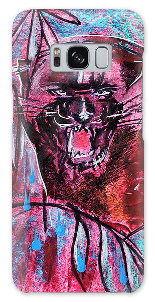 Black Panther,  Original Painting Galaxy Case
