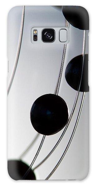 Black Pearls Galaxy Case