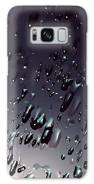 Black Rain Galaxy Case by Steven Milner