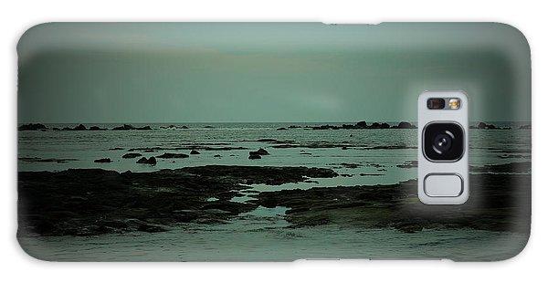 Black Rock Beach Galaxy Case