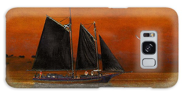 Black Sails In The Sunset Galaxy Case by Chris Armytage