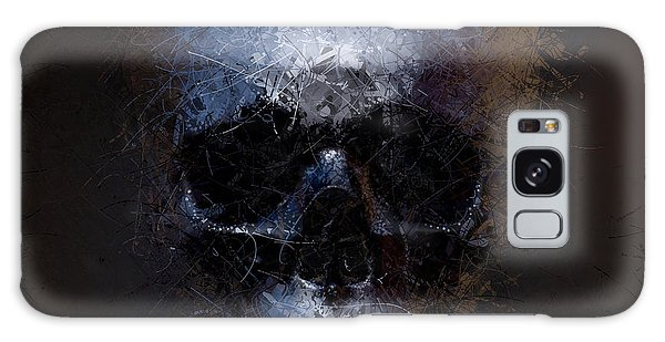 Black Skull Galaxy Case