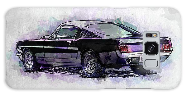 Black Stallion 1965 Ford Mustang Fastback Galaxy Case
