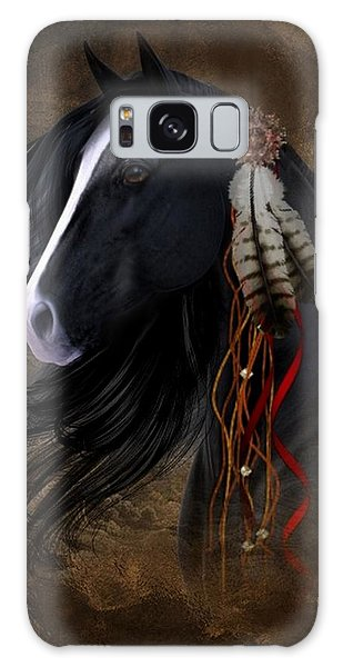 Black Stallion  Galaxy Case