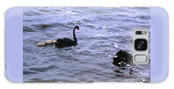 Black Swan Family Galaxy Case