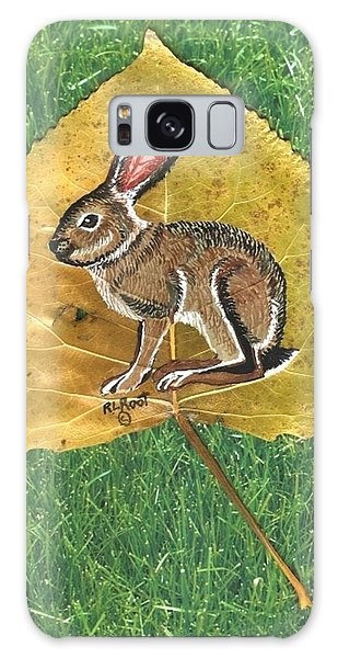 Black Tail Jack Rabbit  Galaxy Case