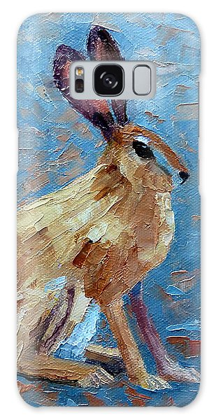 Black-tailed Jackrabbit Galaxy Case by Susan Woodward