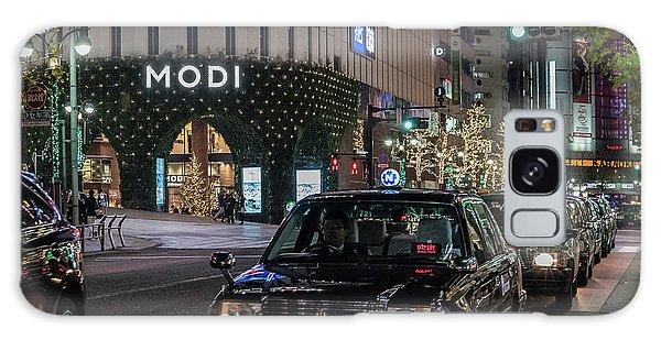 Black Taxi In Tokyo, Japan Galaxy Case