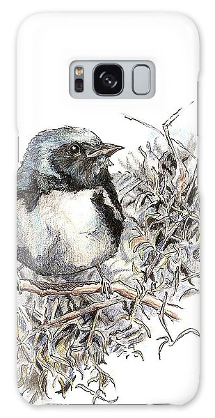 Black-throated Blue Warbler Galaxy Case