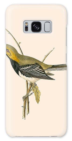 Song Bird Galaxy Case - Black Throated Warbler by English School