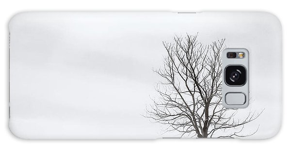 Impression Galaxy Case - Black Tree White Sky by Scott Norris